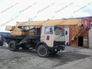 Аренда автокрана 14 т в Курске